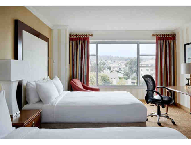 MONTEREY MARRIOTT - ONE NIGHT STAY W/ BREAKFAST FOR TWO
