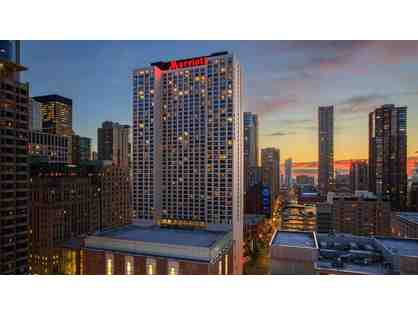 CHICAGO MARRIOTT DOWNTOWN MAGNIFICENT MILE - TWO NIGHT STAY WITH BREAKFAST FOR TWO