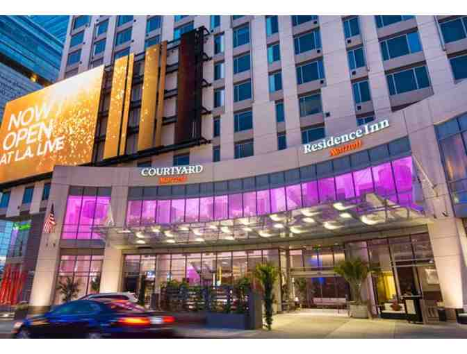 COURTYARD/ RESIDENCE INN LOS ANGELES LA LIVE - TWO NIGHT STAY W/ BREAKFAST FOR TWO - Photo 2