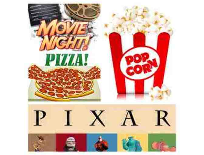 Kindergarten Treasure - Popcorn, Pixar & Popsicles!