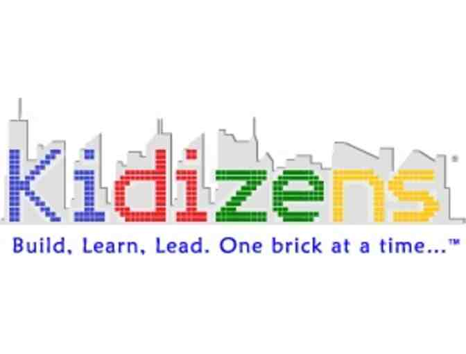 $225 Gift Certificate for Kidizens One Week Young Mayors LEGO Summer Camp