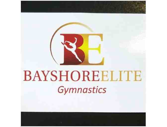 $100 gift certificate toward classes or camps at Bayshore Elite Gymnastics
