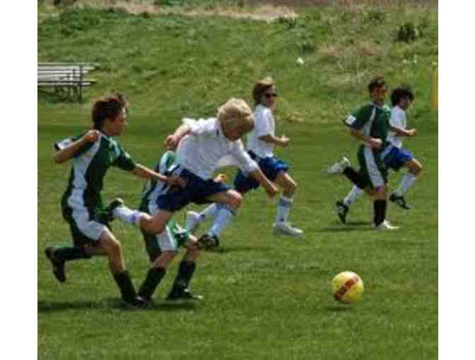1 week of Alpine Strikers Soccer Summer Camp