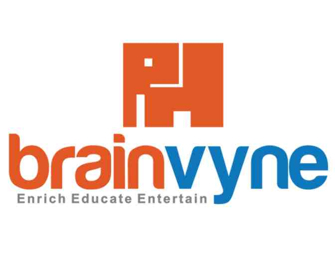 $100 Gift Certificate for LEGO and Robotics camps at Brainvyne