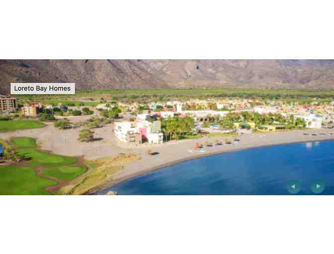 Fun-filled 1-week vacation package in Loreto Bay, Mexico: Casita, Golf, Dinner, Snorkeling