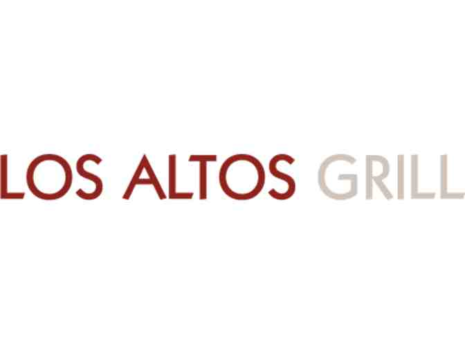 A really relaxing date night: dinner at Los Altos Grill + movie (baby-sitting included)