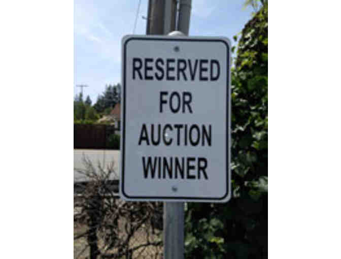 Reserved Parking Space at Las Lomitas for 2020-21 School Year