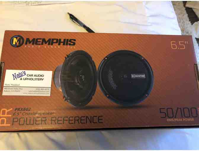 Memphis Car Audio Speakers