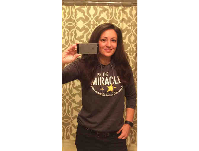 Be The Miracle - Women's Lightweight TShirt Hoodie