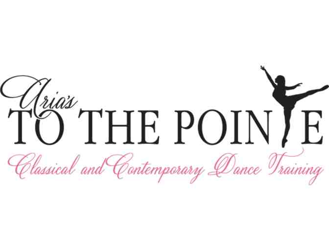 One Month of Dance Class at Aria's To The Pointe