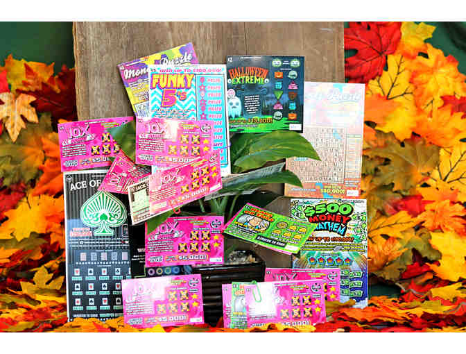 $50 NH Lottery Scratch Ticket Tree