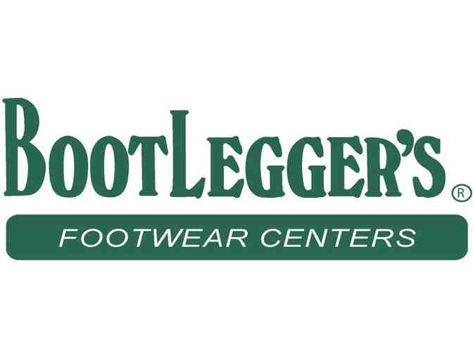$100 Gift Card to Bootlegger's Footwear Center