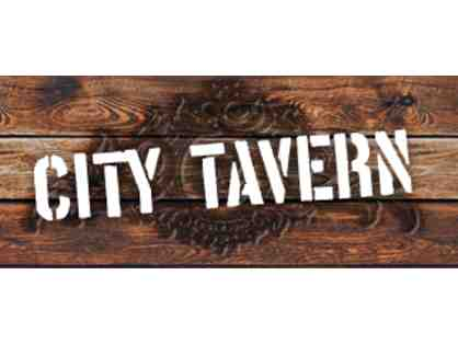 $50 Gift Certificate for City Tavern