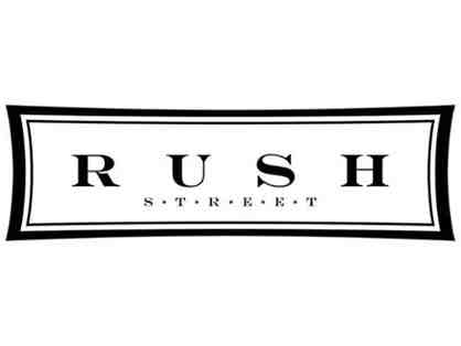 $50 Gift Certificate for Rush Street