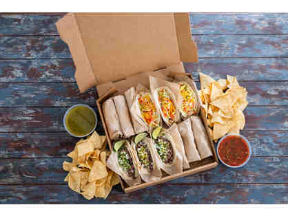 Taco Box for 4-6 people from Sharky's in Marina del Rey