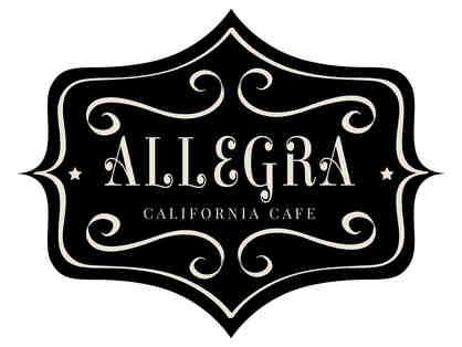 Allegra California Cafe Gift Certificate $25