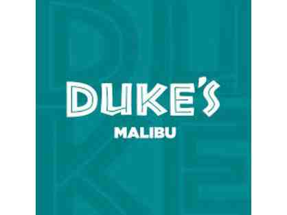 $50 Gift Card for Duke's Malibu Restaurant
