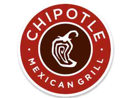 Dinner for two at Chipotle - gift card