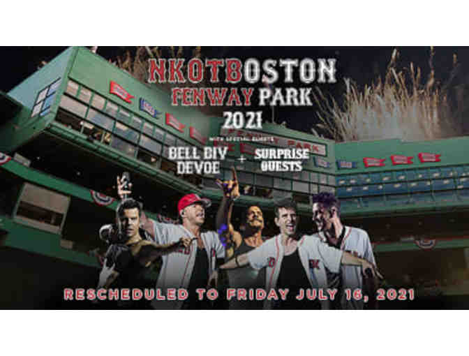 New Kids on the Block at Fenway - Friday, July 16, 2021 - Photo 1