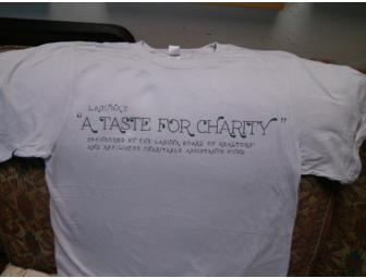 'Laguna's 'A Taste for Charity' T-Shirt - X Large