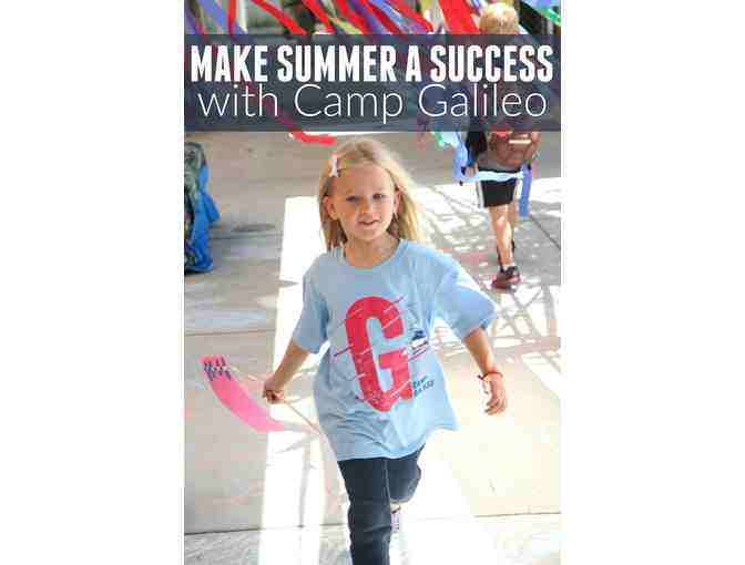 $200 Off a Week of Camp at Galileo: Innovation Camps for Kids
