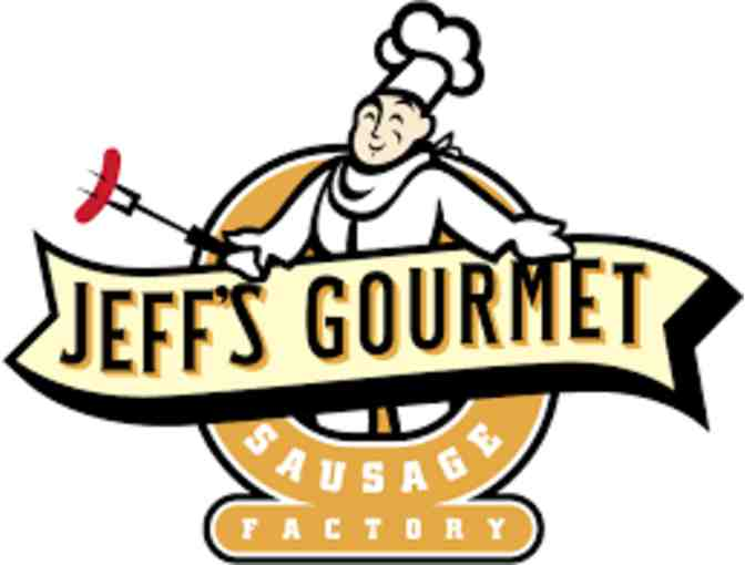 $36 gift certificate to Jeff's Gourmet Sausage Factory