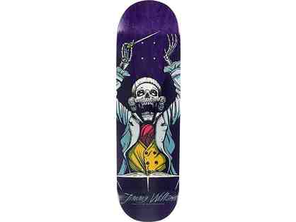Jimmy Wilkins Signed Skateboard Deck