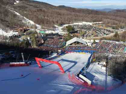 Once in a Lifetime Experience for Two Ski Racing Fans in Killington, VT