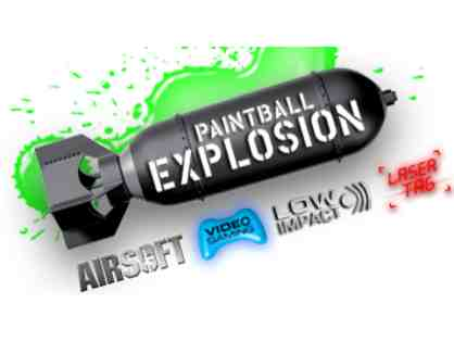 Paintball for Five at Paintball Explosion