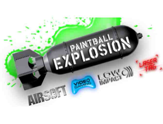 Paintball for Five at Paintball Explosion - Photo 1