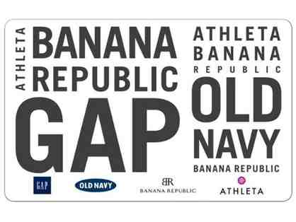 $25 Gift Card for Gap, Old Navy, Banana Republic, or Athleta