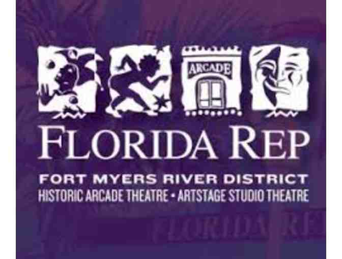 4 Tickets to Florida Rep Theatre - Photo 1