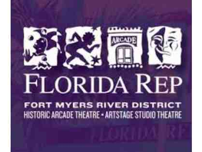 4 Tickets to Florida Rep Theatre