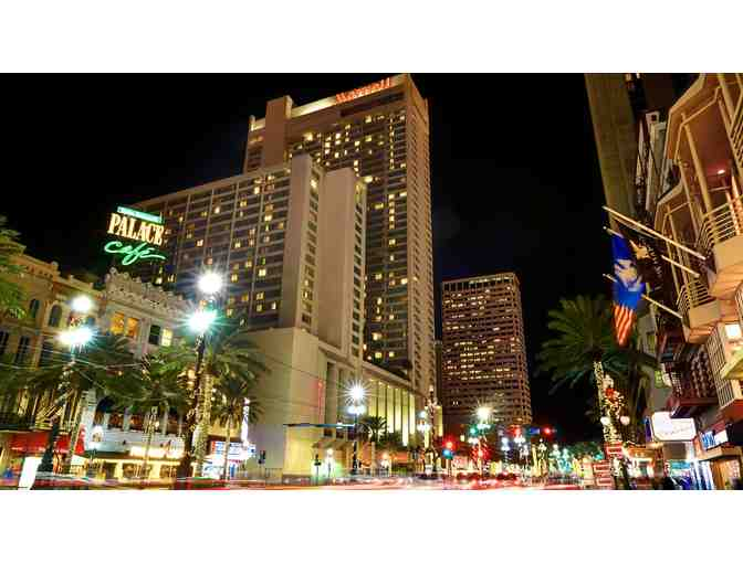 New Orleans Marriott- 3 nights w/breakfast for 2 and parking