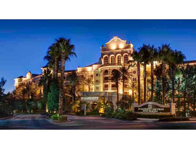 JW Marriott Las Vegas Resort & Spa- 2 nights w/$100 dining credit for Hawthorn Grill