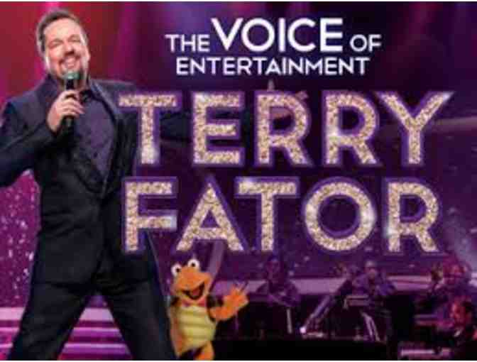 2 Tickets to Vegas' #1 Entertainer Terry Fator!