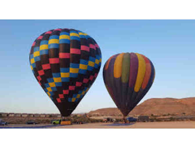 Fabulous Sunrise Flight for (2) from Vegas Hot Air Sin City Balloon Rides!