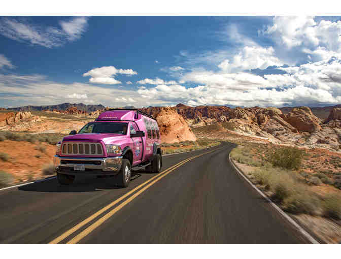Pink Jeep's Valley of Fire State Park Tour for Four Passengers!