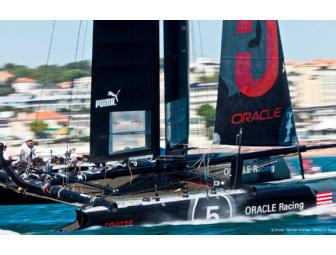 Once in a lifetime opportunity to sail aboard an ORACLE TEAM USA AC45 catamaran!