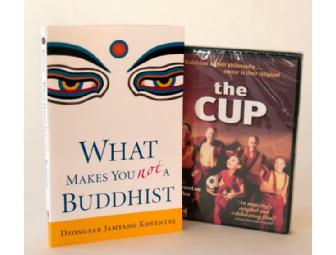 Dzongsar Khyentse Rinpoche: 'The Cup' & 'What Makes You Not a Buddhist' Book & DVD Set