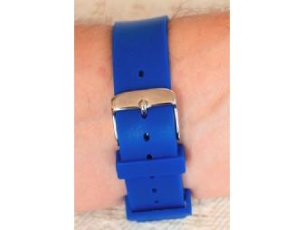Blue Cliff Monastery's Thich Nhat Hanh-inspired 'It's Now' Watch with Blue Jelly Strap