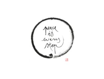 Thich Nhat Hanh: Set of Three Calligraphy Prints