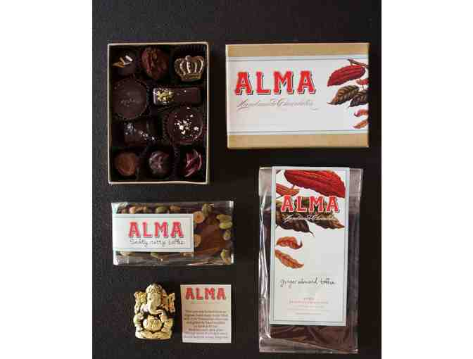 Alma Handmade Chocolates: Good Luck! Collection