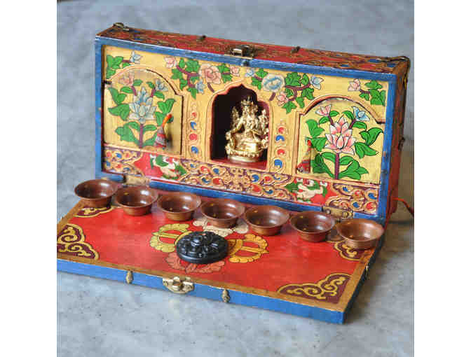 Ratna Jewels: Miniature Shrine Set with Choice of Statue