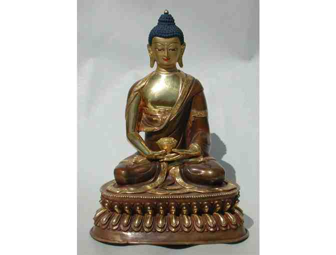 Namse Bangdzo Bookstore: 'Amitabha' Statue with Gold-Plating