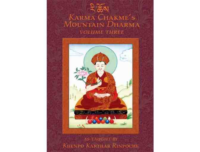 KTD Publications: Four-Volume 'Karma Chakme's Mountain Dharma' from Khenpo Khatar