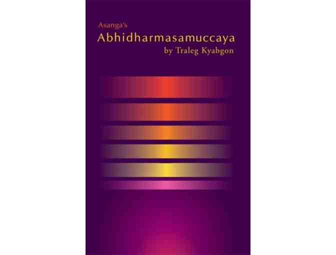 KTD Publications: Newly Released 'Abhidharmasamuccaya'by Traleg Rinpoche