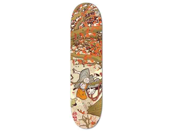 The Gateless Gate: Skateboard Deck with Mumonkan Illustration
