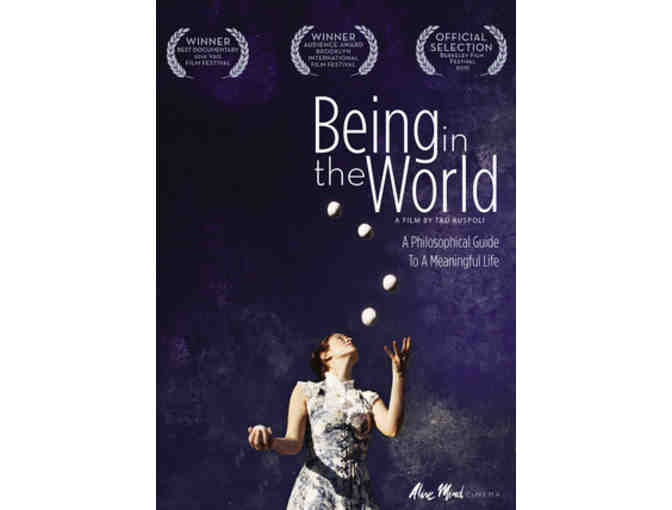 Alive Mind Cinema: 'Crazy Wisdom' and 'Being in the World' DVDs