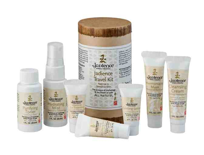 Jadience Herbal Formulas: Skin Care Travel Kit